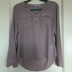 Express dusty pink top